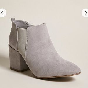 Light Gray Booties (SOLD OUT ONLINE)
